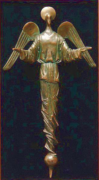 Ангел скульптурный