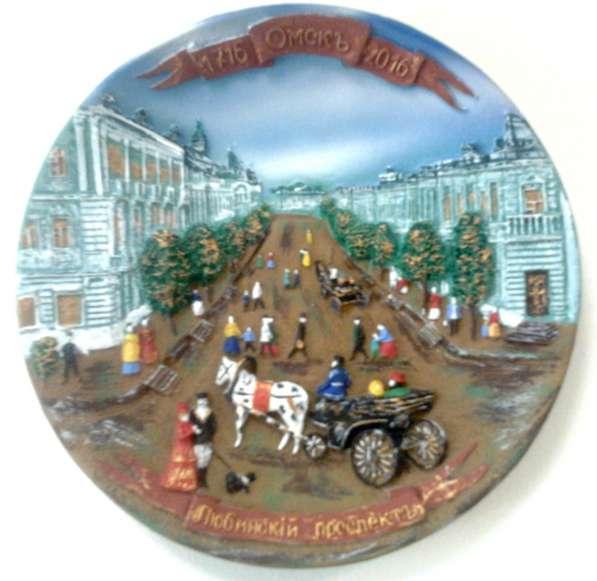 Тарелка сувенирная в ассортименте в Омске фото 3