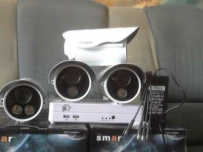комплект видеонабл. на 4 уличные камеры