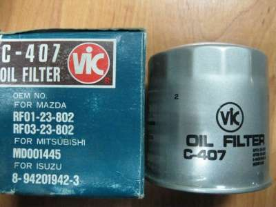 автозапчасти Фильтр масляный C-407