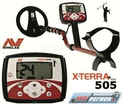 металлодетектор MINELAB X-TERRA 505