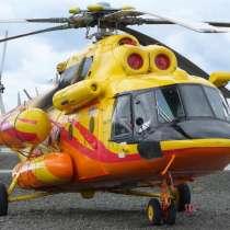 Вертолет МИ-171, в Москве