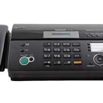 Продам факсимильный аппарат Panasonic KX-FT982RUB (black), в Челябинске