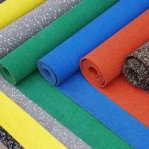 Рулонное покрытие из резиновой крошки по доступной цене, в Екатеринбурге