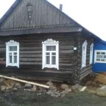 Подъем бревенчатого дома, в г.Минск