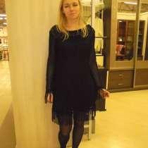 Платье НОВОЕ, черное коктельное, р.44-46(М-L), в Москве