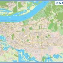 Карта Самары, в Самаре