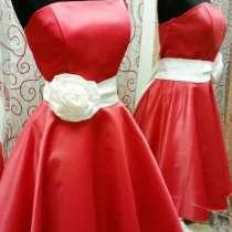 Платье вечернее красное, в Москве