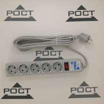 Сетевой фильтр POWER CUBE SPG-B-6 5розеток 10A 1.9м серый, в Москве