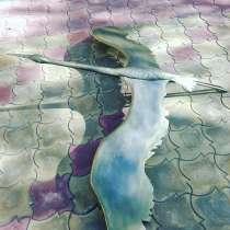 Журавли летят-скульптурная композиция, в Краснодаре