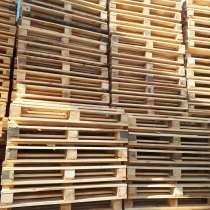 Поддоны (паллеты) деревянные новые второй сорт 800х1200 мм, в Новосибирске