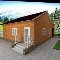 Готовый проект дома 1-8, в Омске