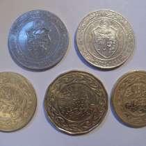 Набор монет Туниса, в Санкт-Петербурге