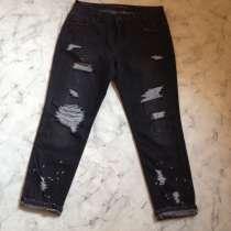 Укороченные рваные джинсы Zara р. М, в Екатеринбурге