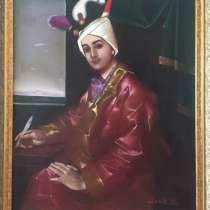 Живопись создана художником в 1990 году, в г.Баку