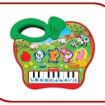 Детский музыкальный инструмент Азбукварик Яблочко 4680019282107, в Москве