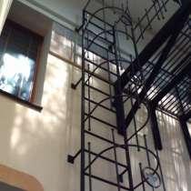 Пожарная вертикальная лестница, в Красноярске