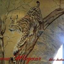 Барельефы, роспись стен в Перми, в Перми