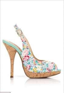 Туфельки с цветочным принтом, в Краснодаре