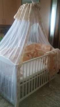 Балдахин и Бортики для детской кроватки, в Перми