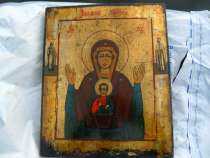 Икона. богородица знамение. 19 ВЕК, в Нижнем Тагиле