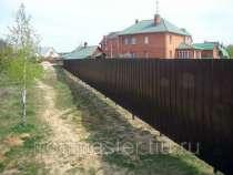 Заборы из профлиста, в Барнауле