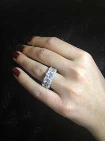 Кольцо серебро 925 пробы, в Москве