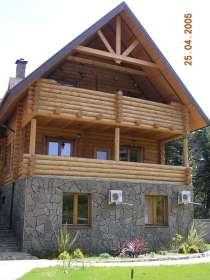 Дома из оцилиндрованного бревна. Собственное производство, в Сургуте