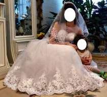 Продаю свадебное платье, туфли и шубку, в Кирове