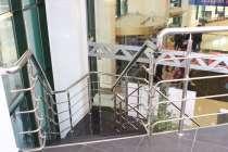 Перила и ограждения из нержавеющей стал с ригелями, в Калуге