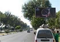 Размещение рекламы на билбордах и призматронах по городу, в г.Ташкент