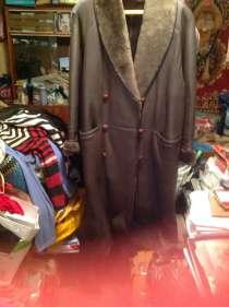 Продается французская дубленка натуральная кожа и мех внутри, в Екатеринбурге