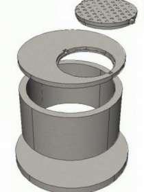 Купить кольца бетонные с пазом для септика, колодца, канализации в Калининграде, в Калининграде