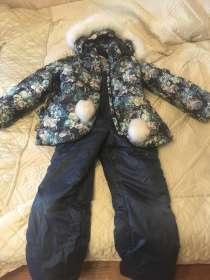 Продаю зимний костюм на девочку рост 134 см, в г.Самара