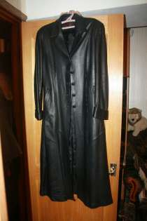Плащ-пальто женский кожаный, в Москве
