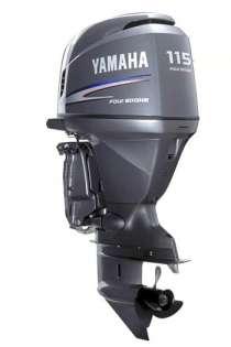 Мотор лодочный Yamaha F115BETL, в Владивостоке