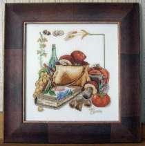 Картина «Дары лета»,ручная работа, вышивка, в г.Минск