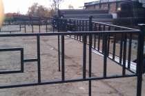 Металлические ритуальные ограды, в Москве