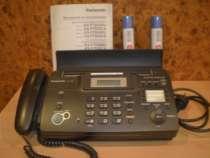 Телефон-факс Panasonic KX-FT938 с автоответчиком, в Туле