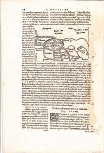 Карта Область Каспийского моря 1538, в г.Октябрьский