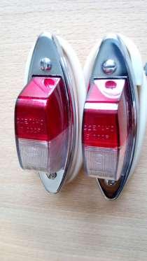 Стояночные фонари ФП-108 на ретро Москвич, в Краснодаре