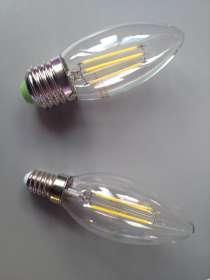Лампа Свеча светодиодная Е27, в Краснодаре