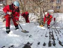 Уборка снега с крыши домов и зданий и другие высотные работы, в Перми