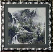 Картина «Японская живопись»,ручная работа, вышивка, в г.Минск