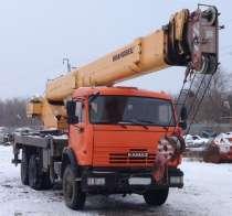 Автокран Ивановец г/п 25 тн; овоидная стрела 31 м, в Липецке