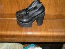 Туфли на широкой платформе и каблуке, в г.Вологда