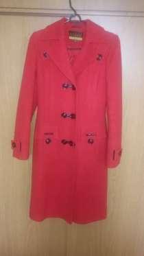 Пальто красное, в Краснодаре