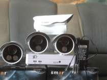 комплект видеонабл. на 4 уличные  камеры, в Челябинске