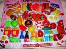 Набор продуктов для игры в супермаркет - 60 штук, в Москве