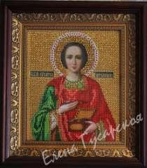 Икона Святого Пантелеймона, в Москве